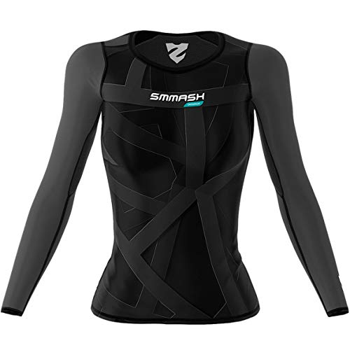 Smmash Damen Compression Langarm Top VITRAGE Crossfit (L) von SMMASH X-WEAR