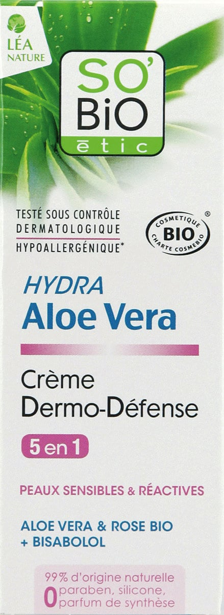 SO'Bio étic 5in1 Bio-Aloe Vera Dermo-Defense Creme - 50 ml von SO'Bio étic