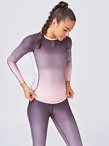 SWEDISH FALL LIFTING ATHLETES Damen Longshirt Smoky Pearl, Rosa, L von SWEDISH FALL LIFTING ATHLETES