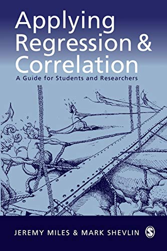 Applying Regression and Correlation: A Guide for Students and Researchers von SAGE Publications Ltd