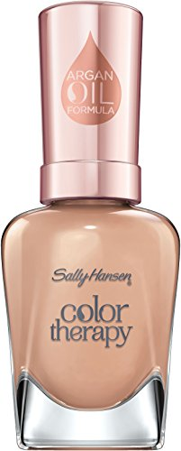 Sally Hansen Color Therapy Nagellack, 486 Toffee Temptations/extrem pflegender, Beige, Nude, 15 g von Sally Hansen