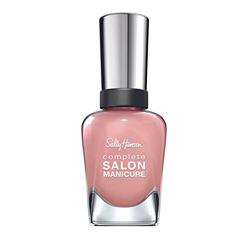 Sally Hansen Complete Salon Manicure Nagellack, 242 Mauvin' on Up/pflegender, helles Rosé, 15 g von Sally Hansen