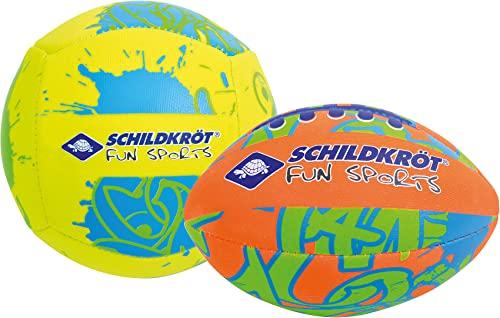 orange-gelb-blau /Ø 22cm 970161 Schildkr/öt Basketball griffige Oberfl/äche Gr/ö/ße 5