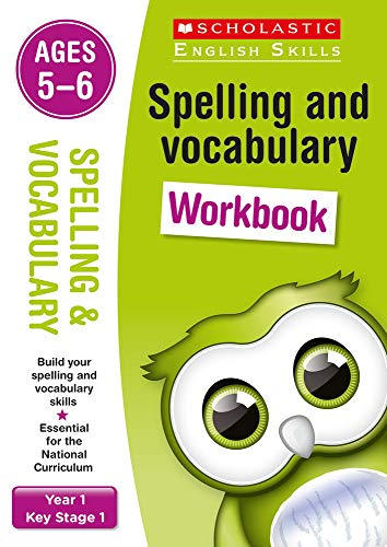 Spelling and Vocabulary Workbook (Year 1) (Scholastic English Skills) von Scholastic