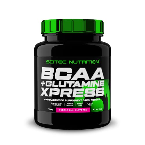 BCAA+Glutamine Xpress 600g bubble gum von Scitec Nutrition