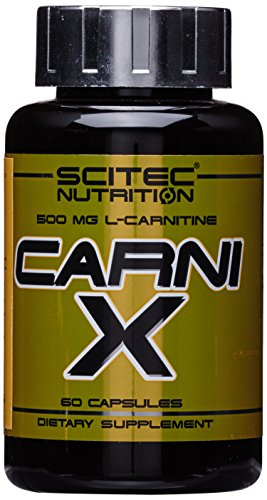 Scitec Nutrition Fat Burner Carni-X (500 mg L-Carnitine), 60 Kapseln von Scitec Nutrition