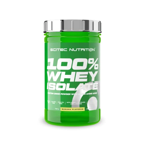 Scitec Nutrition Whey Isolate, Banane, 1er Pack (1 x 700 g) von Scitec Nutrition