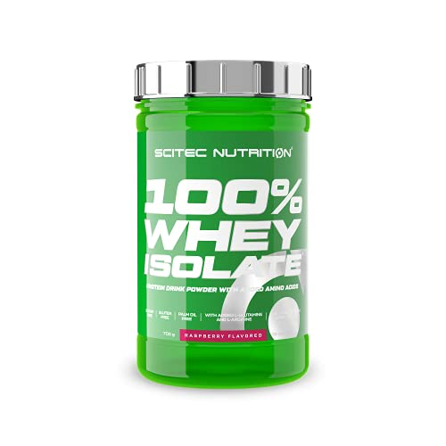 Whey Isolate 700g raspberry AF von Scitec Nutrition