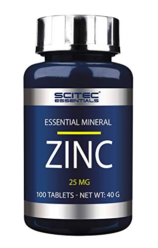 Scitec Nutrition Vitamin Zinc 25 MG, 100 Tabletten, 1er Pack (1 x 40g) von Scitec Nutrition