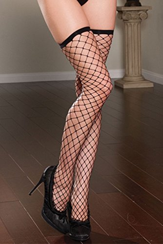 Seven til Midnight 20307 Fence Net Thigh High Strümpfe (Queen Size) von Seven Til Midnight