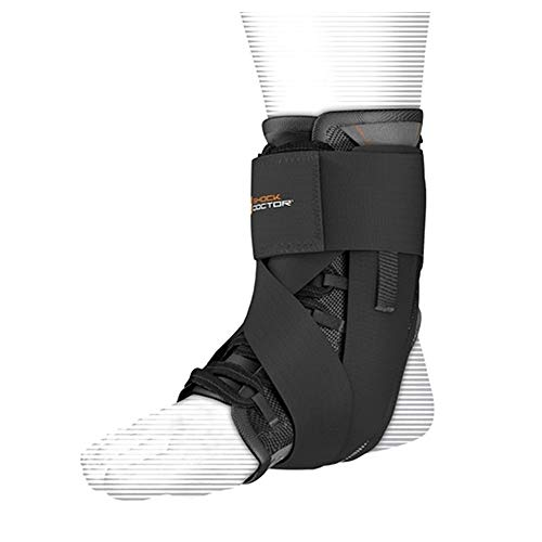 Shock Doctor Ultra-Wrap Lace Ankle Support Schwarz X Large von Shock Doctor