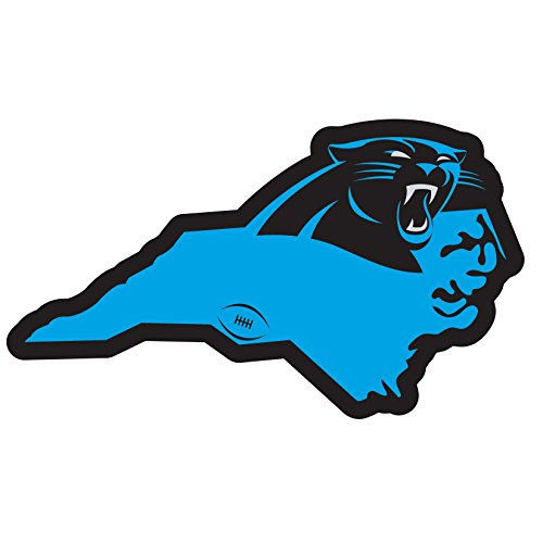 Siskiyou NFL Sports Fan Shop Carolina Panthers Home State 27,9 cm Magnet One Size Team Color von Siskiyou