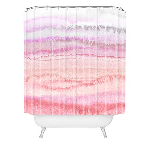 "Society6 Monika Strigel Within The Tides Candy Pink Duschvorhang, Polyester, Multi, 72"" x 69"" von Society6"