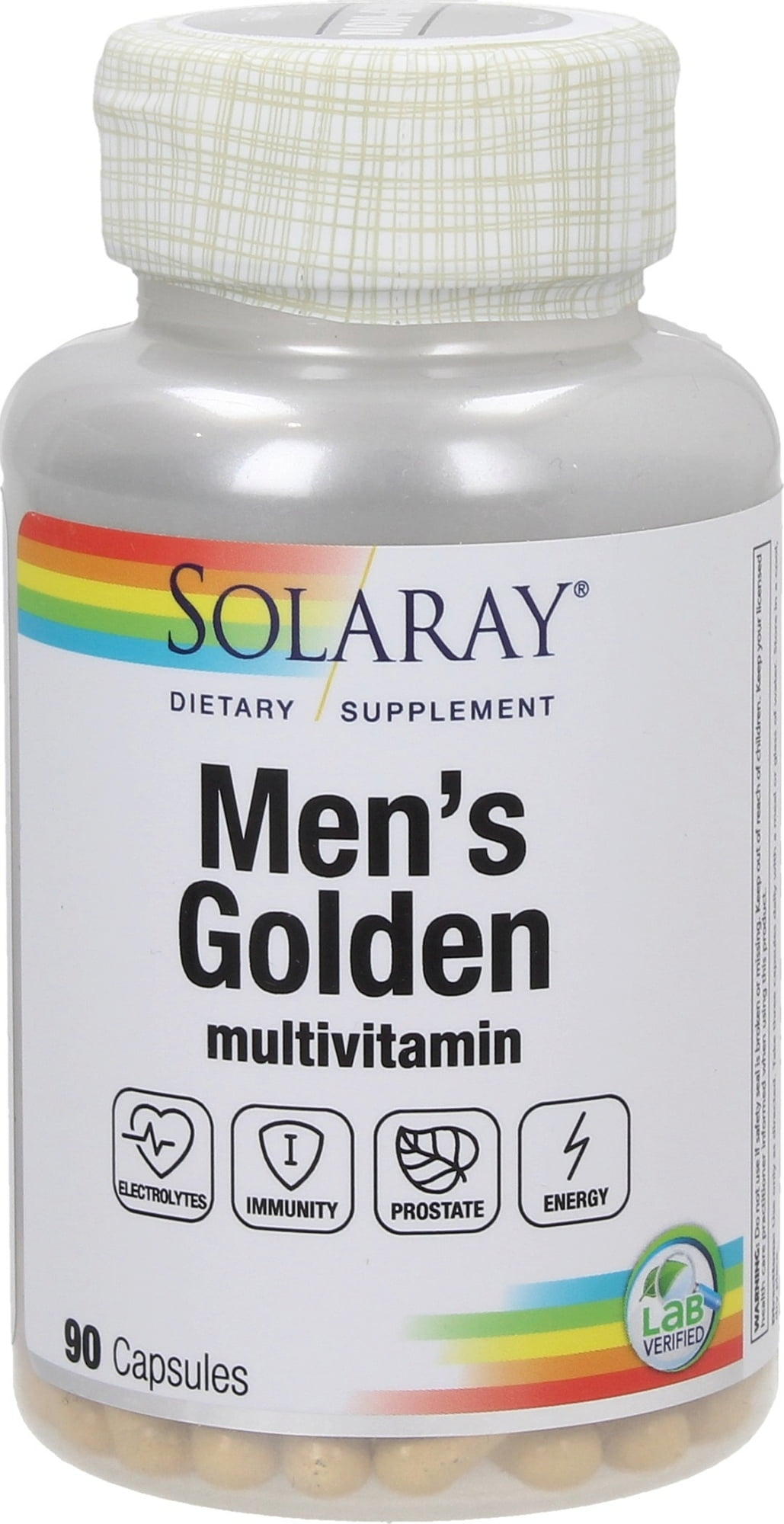 Solaray Men's Golden Vitamins - 90 Kapseln von Solaray