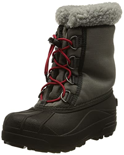 Sorel Unisex-Kinder Childrens Cumberland Schneestiefel, Grau (City Grey/Coal), 26 EU von Sorel