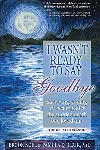 I Wasn't Ready to Say Goodbye: Surviving, Coping and Healing After the Sudden Death of a Loved One von SOURCEBOOKS INC