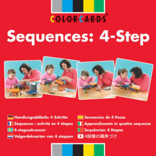 Sequences: Colorcards: 6 and 8- Step for Children: 4-step (Sequencing Colorcards) von Taylor & Francis Ltd