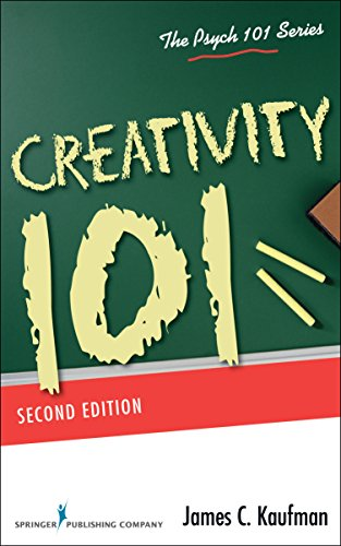 Creativity 101 (Psych 101 Series) von SPRINGER PUB