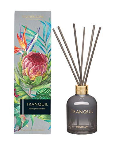 Stoneglow Infusion - Oolong Tea & Neroli Reed Diffuser Grey Tranquil von Stoneglow
