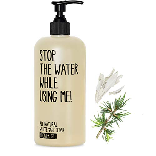 Stop the water while using me! All Natural Cosmetics White Sage Shower Gel 200 ml Revitalisiert Körper & Geist von Stop The Water While Using Me!