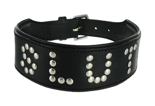 Strict Leather Studded Leather Collar von Strict Leather