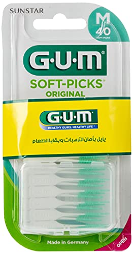 Gum Soft-Picks Interdentalbürsten, 40 Stück, regular von Sunstar