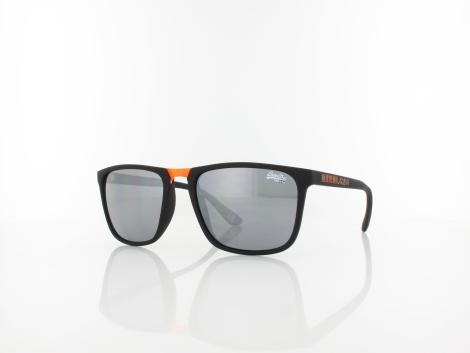 Superdry Aftershock 199 54 rubber black orange / grey lightmirror silver von Superdry