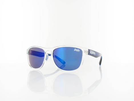 Superdry Rockstar 175 54 clear blue transparent / blue mirror von Superdry