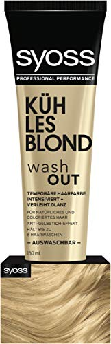 Syoss Wash Out Kühles Blond Stufe 0 (1 x 150 ml) von Syoss
