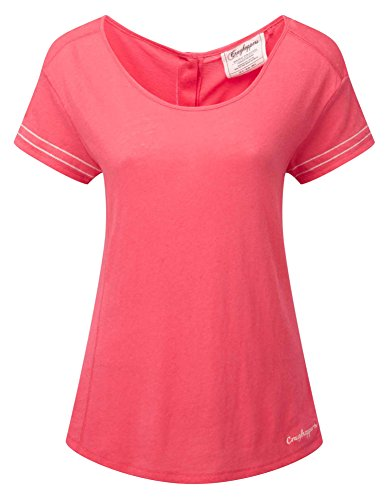 Craghoppers Damen Thea Short Sleeve Tee Watermelon US 14 von Craghoppers