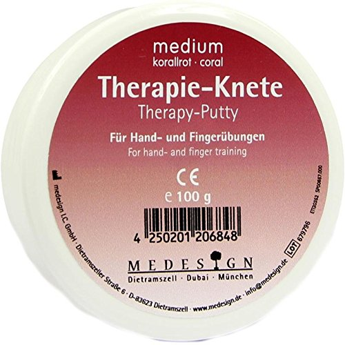 THERAPIEKNETE medium korallr 100 g von Therapieknete