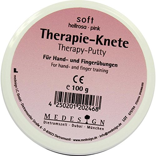 THERAPIEKNETE soft hellrosa 100 g von Therapieknete