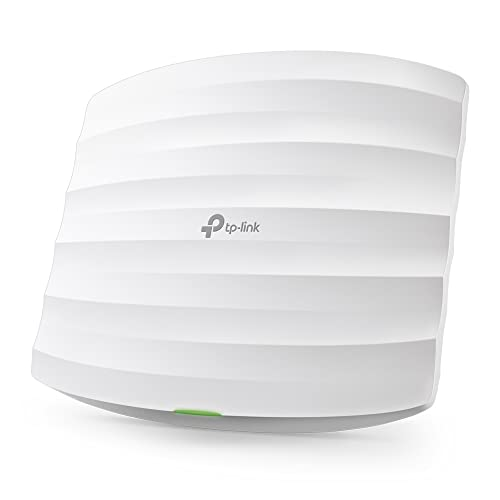 TP-Link EAP115 N300 Wireless Ceiling Mount Access Point, Support PoE 802.3af and Direct Current, Easily Mount to Wall or Ceiling, Simply Managed by Free EAP Controller Software von TP-Link