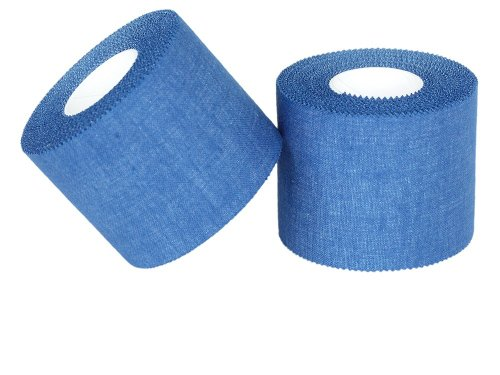 3x Sport Tape 5 cm x 10 m BLAU , Sport Tapes , Kinesiologie Tape, Tapen , Pflaster , Bandage von Tapefactory24