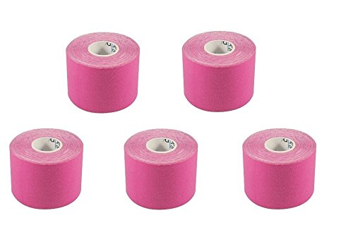5 Rollen Kinesio® TexClassic Tape Dr. Kenzo Kase oder 5 Rollen Kinesiologie Tape von IamSporty (Kinesiologie Pink) von Tapefactory24