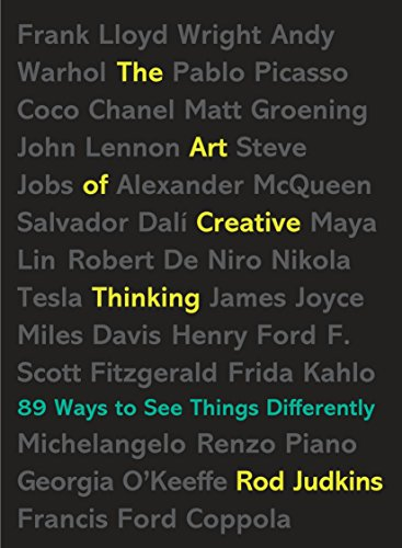 The Art of Creative Thinking: 89 Ways to See Things Differently von TarcherPerigee