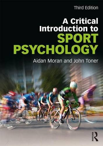 Critical Introduction to Sport Psychology von Taylor & Francis