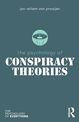 The Psychology of Conspiracy Theories (Psychology of Everything) von Taylor & Francis Ltd.