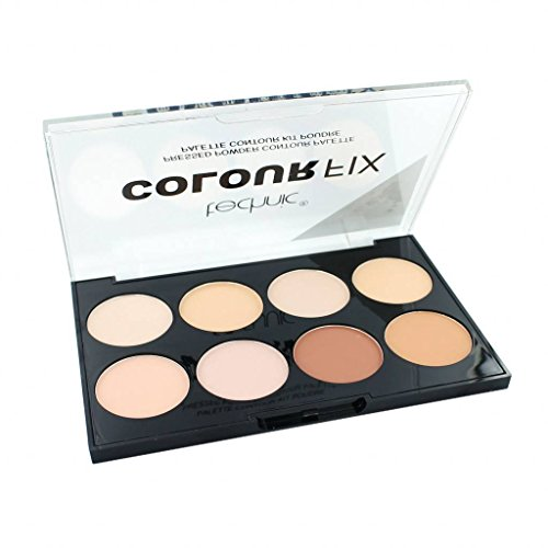 Technic: 8 Color Pressed Powder Contour Palette (28 g) von Technic