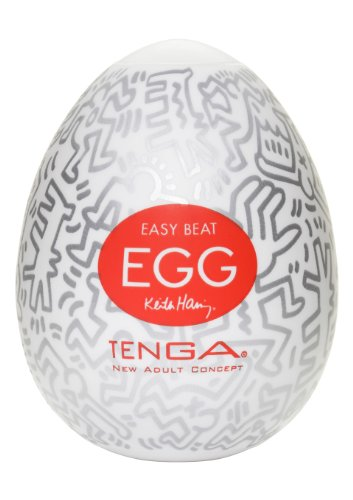 TENGA EGG KEITH HARING PARTY Masturbationsei - 1 Stück von Tenga