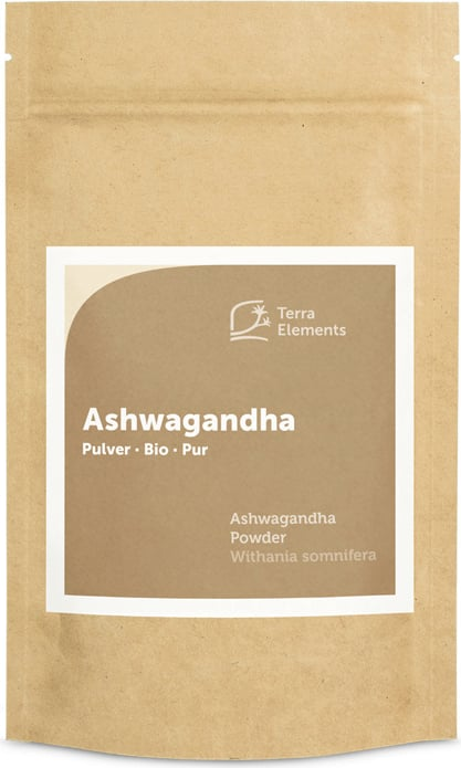 Terra Elements Ashwagandha Pulver Bio - 100 g von Terra Elements