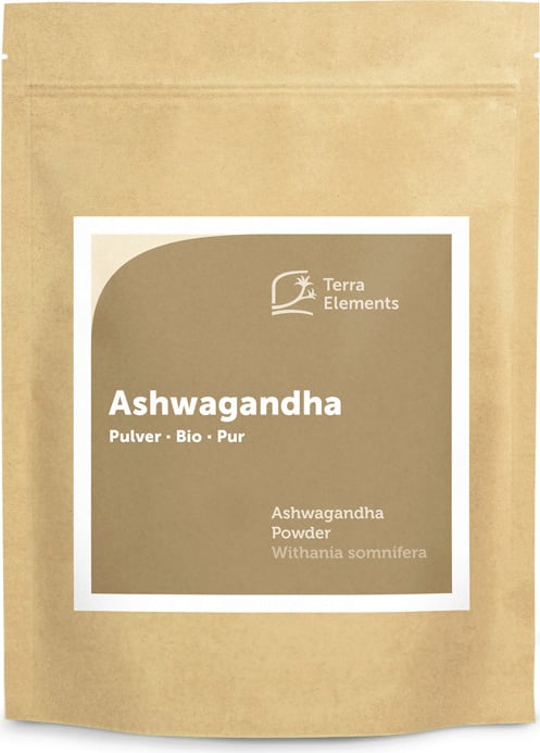 Terra Elements Ashwagandha Pulver Bio - 500 g von Terra Elements