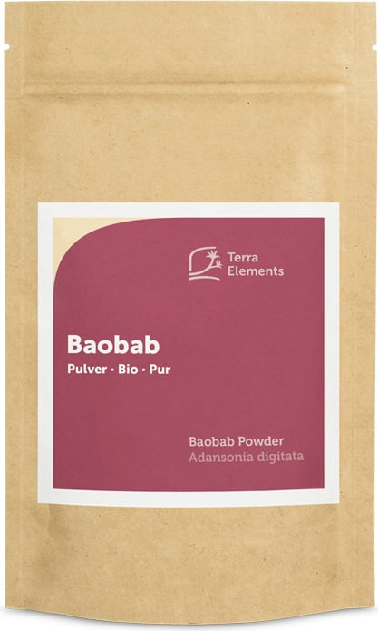 Terra Elements Baobab Pulver Bio - 100 g von Terra Elements