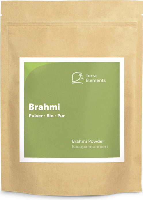 Terra Elements Brahmi Pulver Bio - 500 g von Terra Elements