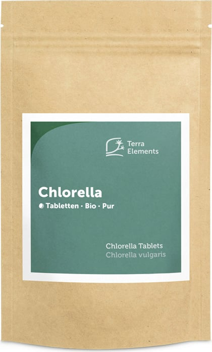 Terra Elements Chlorella Tabletten Bio - 240 Tabletten von Terra Elements
