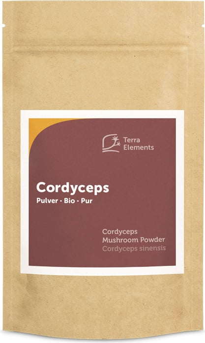 Terra Elements Cordyceps Pulver Bio - 100 g von Terra Elements