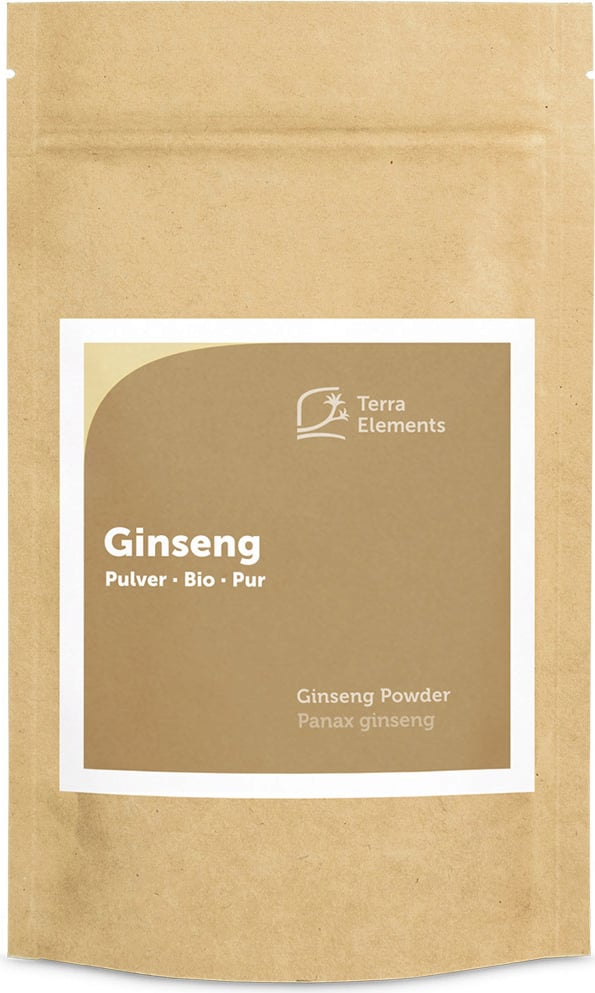 Terra Elements Ginseng Pulver Bio - 100 g von Terra Elements