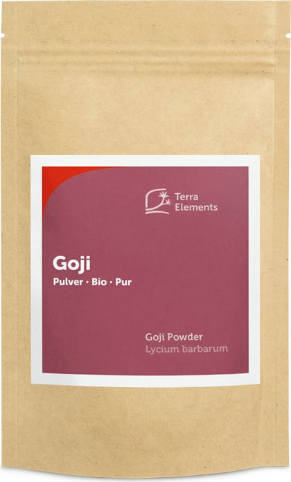 Terra Elements Goji Pulver Bio - 100 g von Terra Elements