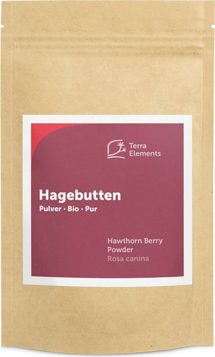 Terra Elements Hagebutten Pulver Bio - 100 g von Terra Elements