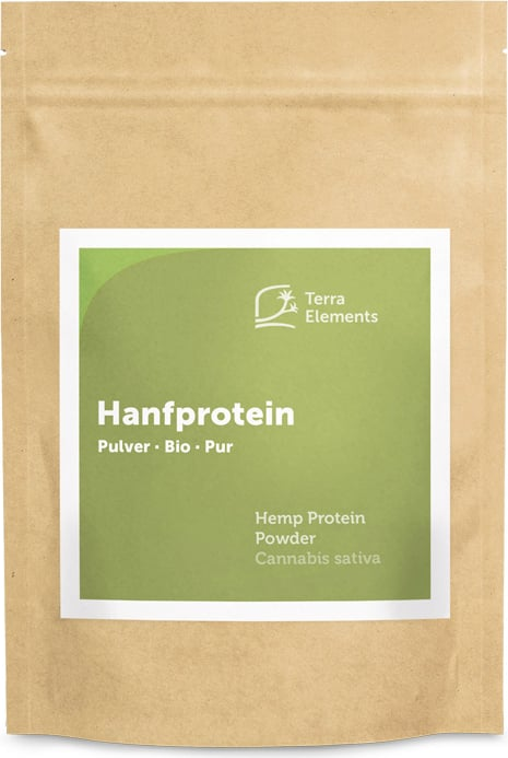 Terra Elements Hanfprotein Pulver Bio - 250 g von Terra Elements